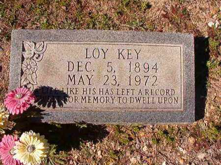 KEY, LOY - Dallas County, Arkansas | LOY KEY - Arkansas Gravestone Photos