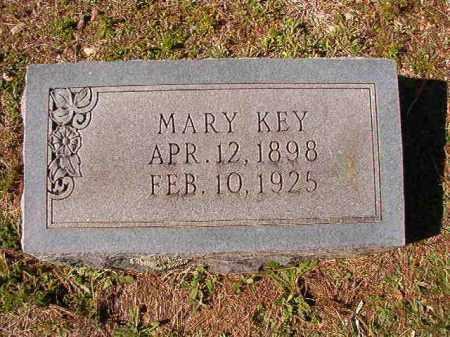 KEY, MARY - Dallas County, Arkansas | MARY KEY - Arkansas Gravestone Photos
