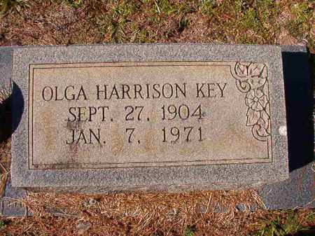 HARRISON KEY, OLGA - Dallas County, Arkansas | OLGA HARRISON KEY - Arkansas Gravestone Photos