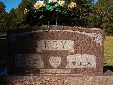 KEY, IRENE - Dallas County, Arkansas | IRENE KEY - Arkansas Gravestone Photos