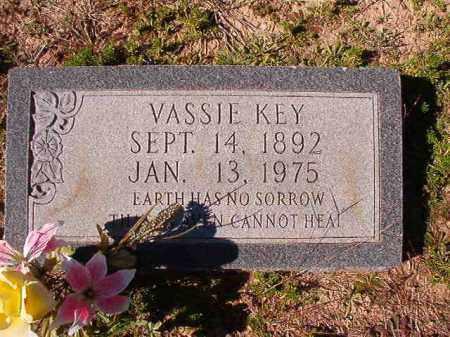 KEY, VASSIE - Dallas County, Arkansas | VASSIE KEY - Arkansas Gravestone Photos