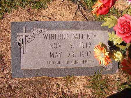 KEY, WINFRED DALE - Dallas County, Arkansas | WINFRED DALE KEY - Arkansas Gravestone Photos