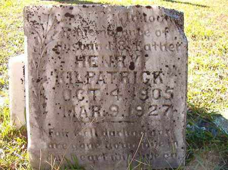 KILPATRICK, HENRY - Dallas County, Arkansas | HENRY KILPATRICK - Arkansas Gravestone Photos