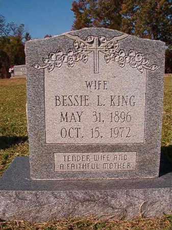 KING, BESSIE L - Dallas County, Arkansas | BESSIE L KING - Arkansas Gravestone Photos