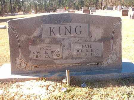 KING, EVIE - Dallas County, Arkansas | EVIE KING - Arkansas Gravestone Photos