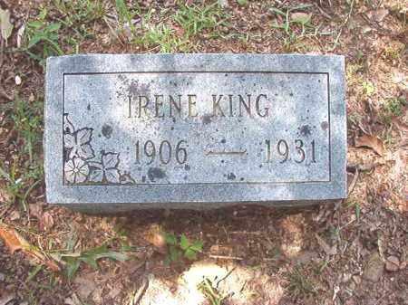 KING, IRENE - Dallas County, Arkansas | IRENE KING - Arkansas Gravestone Photos
