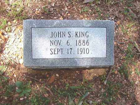 KING, JOHN S - Dallas County, Arkansas | JOHN S KING - Arkansas Gravestone Photos