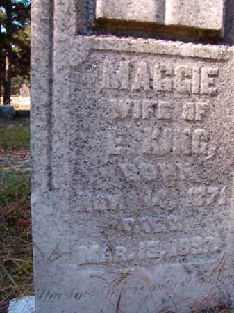KING, MAGGIE - Dallas County, Arkansas | MAGGIE KING - Arkansas Gravestone Photos