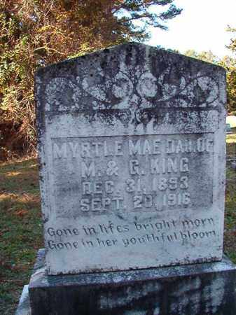 KING, MYRTLE MAE - Dallas County, Arkansas | MYRTLE MAE KING - Arkansas Gravestone Photos