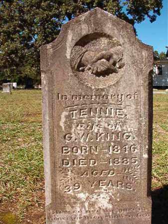 KING, TENNIE - Dallas County, Arkansas   TENNIE KING - Arkansas Gravestone Photos