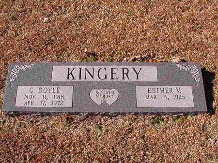 KINGERY, G DOYLE - Dallas County, Arkansas | G DOYLE KINGERY - Arkansas Gravestone Photos