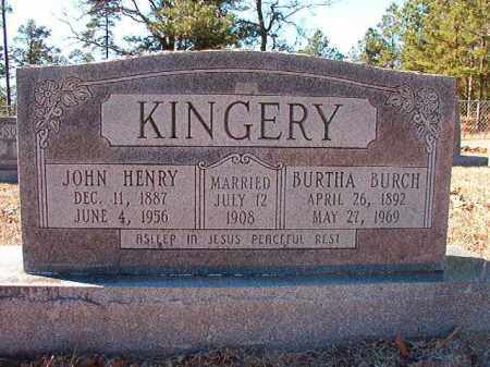 BURCH KINGERY, BURTHA - Dallas County, Arkansas | BURTHA BURCH KINGERY - Arkansas Gravestone Photos