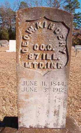KINGERY (VETERAN UNION), GEORGE W - Dallas County, Arkansas | GEORGE W KINGERY (VETERAN UNION) - Arkansas Gravestone Photos