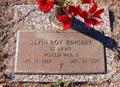 KINGERY (VETERAN WWII), ALVIN ROY - Dallas County, Arkansas | ALVIN ROY KINGERY (VETERAN WWII) - Arkansas Gravestone Photos