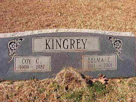 KINGREY, BELMA Z - Dallas County, Arkansas | BELMA Z KINGREY - Arkansas Gravestone Photos