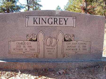 KINGREY, CHARLIE GUY - Dallas County, Arkansas | CHARLIE GUY KINGREY - Arkansas Gravestone Photos