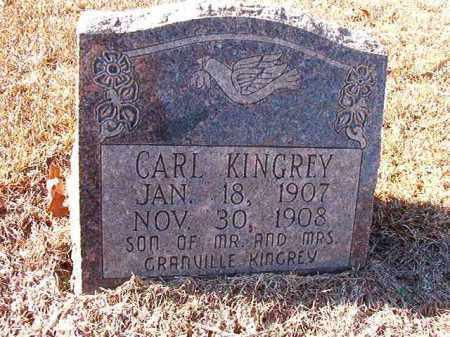 KINGREY, CARL - Dallas County, Arkansas | CARL KINGREY - Arkansas Gravestone Photos