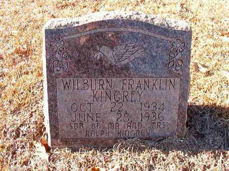 KINGREY, WILBURN FRANKLIN - Dallas County, Arkansas | WILBURN FRANKLIN KINGREY - Arkansas Gravestone Photos