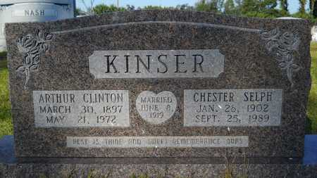 KINSER, ARTHUR CLINTON - Dallas County, Arkansas | ARTHUR CLINTON KINSER - Arkansas Gravestone Photos