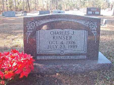KINSER, CHARLES J - Dallas County, Arkansas | CHARLES J KINSER - Arkansas Gravestone Photos