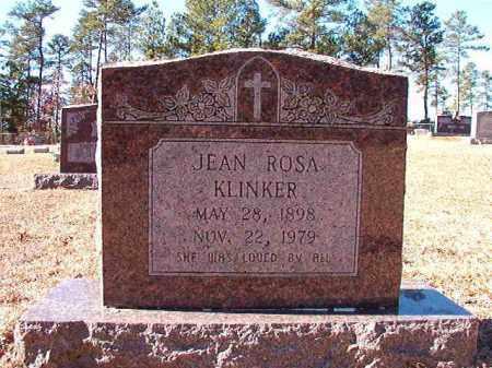 KLINKER, JEAN ROSA - Dallas County, Arkansas | JEAN ROSA KLINKER - Arkansas Gravestone Photos