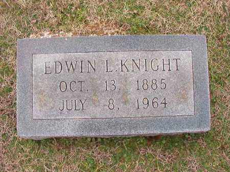 KNIGHT, EDWIN L - Dallas County, Arkansas | EDWIN L KNIGHT - Arkansas Gravestone Photos