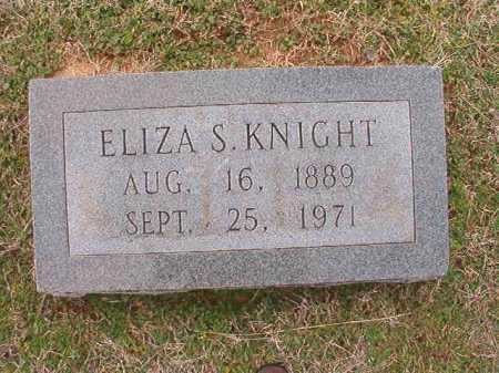 KNIGHT, ELIZA S - Dallas County, Arkansas | ELIZA S KNIGHT - Arkansas Gravestone Photos
