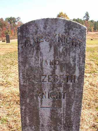 KNIGHT, ELIZEBETH - Dallas County, Arkansas | ELIZEBETH KNIGHT - Arkansas Gravestone Photos