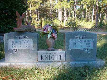KNIGHT, FLORENCE - Dallas County, Arkansas | FLORENCE KNIGHT - Arkansas Gravestone Photos