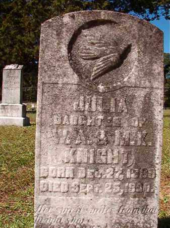 KNIGHT, JULIA - Dallas County, Arkansas | JULIA KNIGHT - Arkansas Gravestone Photos