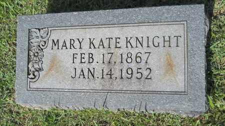 KNIGHT, MARY KATE - Dallas County, Arkansas | MARY KATE KNIGHT - Arkansas Gravestone Photos
