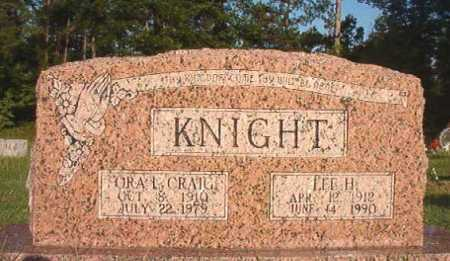 CRAIG KNIGHT, ORA L - Dallas County, Arkansas | ORA L CRAIG KNIGHT - Arkansas Gravestone Photos