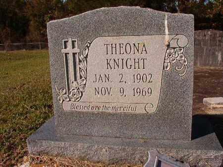 KNIGHT, THEONA - Dallas County, Arkansas | THEONA KNIGHT - Arkansas Gravestone Photos