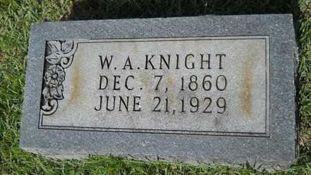 KNIGHT, W A - Dallas County, Arkansas | W A KNIGHT - Arkansas Gravestone Photos