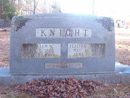 KNIGHT, FEASTER - Dallas County, Arkansas | FEASTER KNIGHT - Arkansas Gravestone Photos