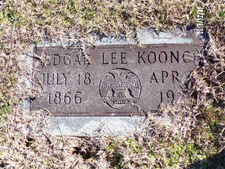 KOONCE, EDGAR LEE - Dallas County, Arkansas | EDGAR LEE KOONCE - Arkansas Gravestone Photos