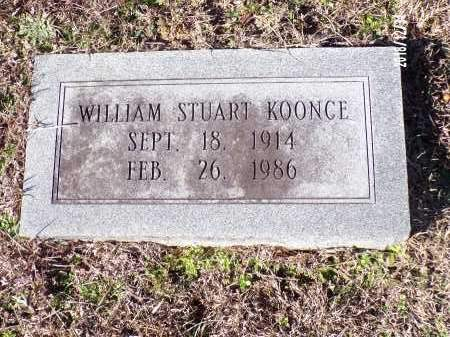 KOONCE, WILLIAM STUART - Dallas County, Arkansas | WILLIAM STUART KOONCE - Arkansas Gravestone Photos