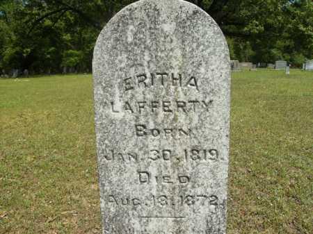 LAFFERTY, ERITHA - Dallas County, Arkansas   ERITHA LAFFERTY - Arkansas Gravestone Photos