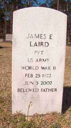 LAIRD (VETERAN WWII), JAMES E - Dallas County, Arkansas   JAMES E LAIRD (VETERAN WWII) - Arkansas Gravestone Photos