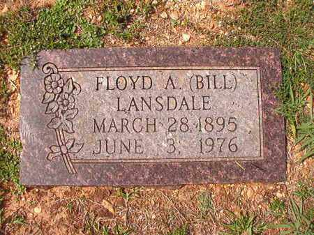 LANDSLE, FLOYD A (BILL) - Dallas County, Arkansas | FLOYD A (BILL) LANDSLE - Arkansas Gravestone Photos