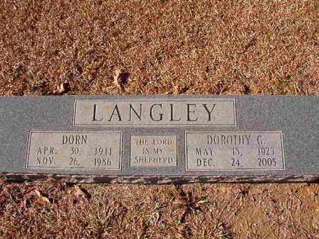 LANGLEY, DORN - Dallas County, Arkansas | DORN LANGLEY - Arkansas Gravestone Photos