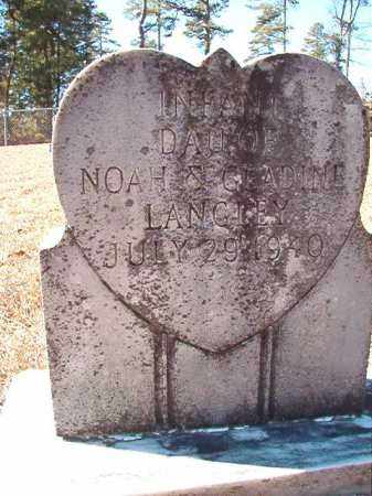 LANGLEY, INFANT DAUGHTER - Dallas County, Arkansas | INFANT DAUGHTER LANGLEY - Arkansas Gravestone Photos