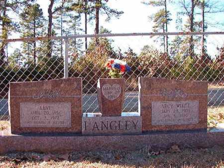 WHITE LANGLEY, ARCY - Dallas County, Arkansas | ARCY WHITE LANGLEY - Arkansas Gravestone Photos