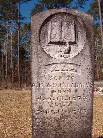 LAUNIUS, A E P - Dallas County, Arkansas | A E P LAUNIUS - Arkansas Gravestone Photos