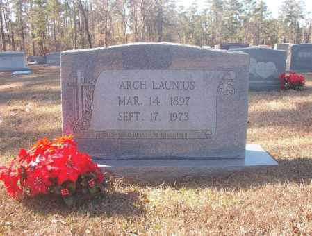 LAUNIUS, ARCH - Dallas County, Arkansas | ARCH LAUNIUS - Arkansas Gravestone Photos