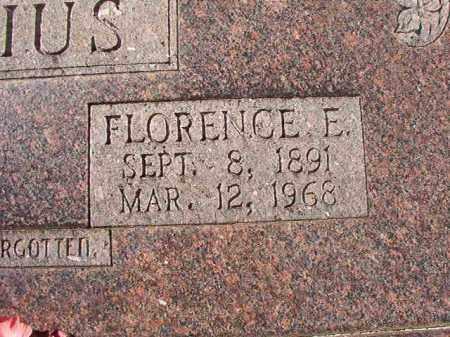 LAUNIUS, FLORENCE E - Dallas County, Arkansas   FLORENCE E LAUNIUS - Arkansas Gravestone Photos