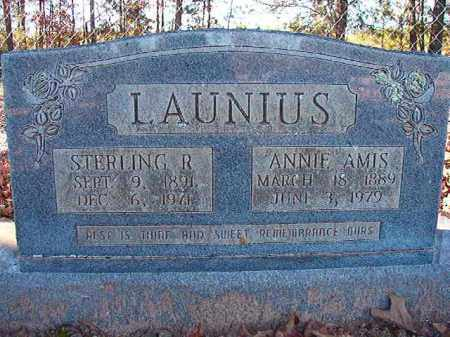 LAUNIUS, ANNIE - Dallas County, Arkansas | ANNIE LAUNIUS - Arkansas Gravestone Photos