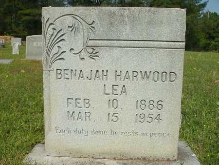 LEA, BENAJAH HARWOOD - Dallas County, Arkansas | BENAJAH HARWOOD LEA - Arkansas Gravestone Photos