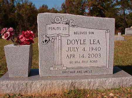 LEA, DOYLE - Dallas County, Arkansas | DOYLE LEA - Arkansas Gravestone Photos