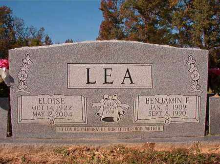 LEA, ELOISE - Dallas County, Arkansas | ELOISE LEA - Arkansas Gravestone Photos